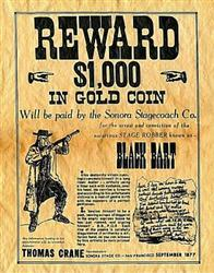 Image result for black bart robberies